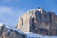 Sella Ronda rocks near Canazei. Stock Image