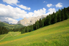 Sella - Val Gardena Stock Photo