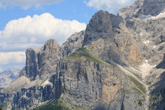 Sella - Val Gardena Royalty Free Stock Photos