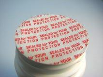 Sellado para su protección fotos de archivo