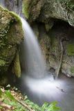 Sellano \ 's-Wasserfälle Stockfoto