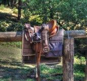 Selle d'équitation Image stock