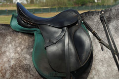 Selle de cheval Photographie stock libre de droits