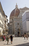 Seller images from Florence's cathedral in Florence, Royalty Free Stock Photography