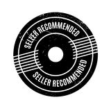 Seller Recommended rubber stamp Royalty Free Stock Photo