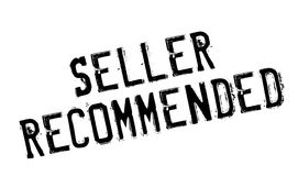 Seller Recommended rubber stamp Royalty Free Stock Photography