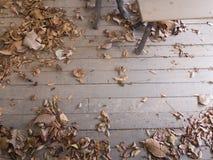 Selles dans un plancher abandonné Photo libre de droits