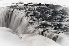 Sellfoss and Dettifoss waterfalls Stock Images