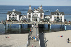Sellin pier 2 Stock Images