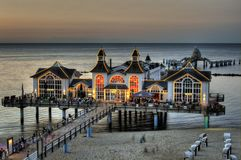 Sellin Pier Stock Photography