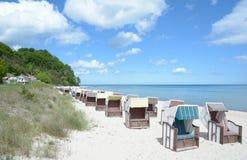 Sellin,Ruegen island,Baltic Sea,Germany Royalty Free Stock Photos