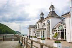 Selliner Seebrücke Royalty Free Stock Photography
