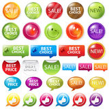 Selling Badges. Vector Royalty Free Stock Photo