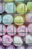 Selling cotton candy, colorful Stock Photography