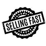 Selling Fast rubber stamp Royalty Free Stock Photography