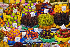Selling fruits Stock Photo
