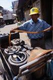 Selling kerosene Stock Photo