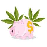 Selling Marijuana Profit Cartoon Stock Images