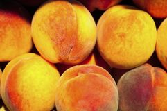 Delicious peach background Royalty Free Stock Photo