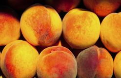 Delicious peach background Royalty Free Stock Photography
