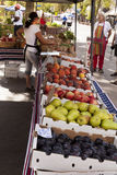 Selling Produce Stock Image