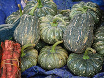 Selling pumpkin in Moc Chau. Vietnam Royalty Free Stock Photography