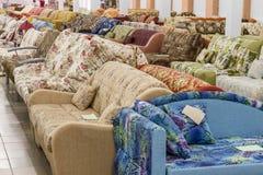 Selling sofas Stock Photos
