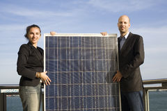 Selling Solar Energy Stock Images