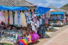 Selling St Maarten Royalty Free Stock Photo