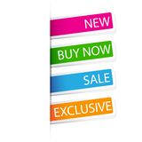 Selling Sticker Stock Photography