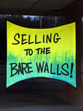 Selling to the Bare Walls Stock Photo