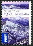 Sello australiano alpino del parque nacional Imagen de archivo