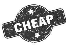 Sello barato ilustración del vector
