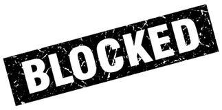 sello bloqueado ilustración del vector