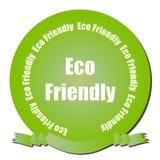 Sello cómodo de Eco Foto de archivo libre de regalías
