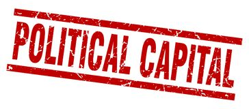 sello capital político ilustración del vector