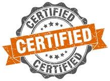 Sello certificado stock de ilustración