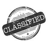 Sello clasificado Imágenes de archivo libres de regalías