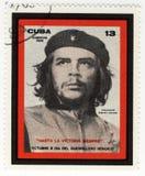 Sello con Ernesto Che Guevara imagenes de archivo
