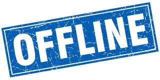 Sello cuadrado off-line Imagen de archivo libre de regalías