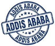 Sello de Addis Ababa Imagen de archivo