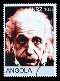 Sello de Albert Einstein fotos de archivo