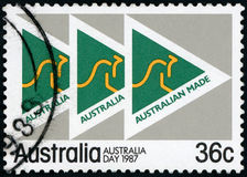 Sello de Australia Imagenes de archivo