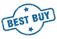 Sello de Best Buy ilustración del vector
