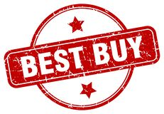 Sello de Best Buy stock de ilustración