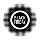 Sello de Black Friday Imagen de archivo libre de regalías