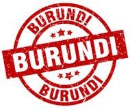 Sello de Burundi ilustración del vector