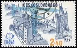 Sello de Checoslovaquia Imagen de archivo