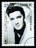 Sello de Elvis Presley imagenes de archivo