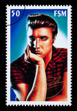 Sello de Elvis Presley foto de archivo